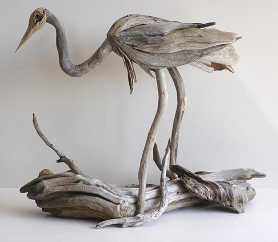 Driftwood Heron
