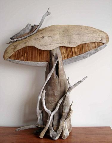 Mushroom and Snail