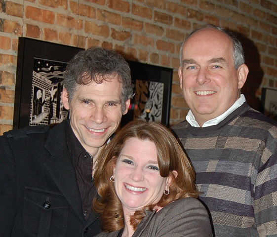 Gerry Giorgio, Rich Hughes and Becky Bush