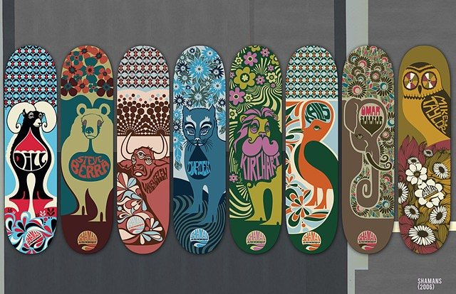 ALIEN WORKSHOP SKATEBOARD ART