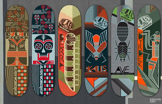 ALIEN WORKSHIP SKATEBOARDS