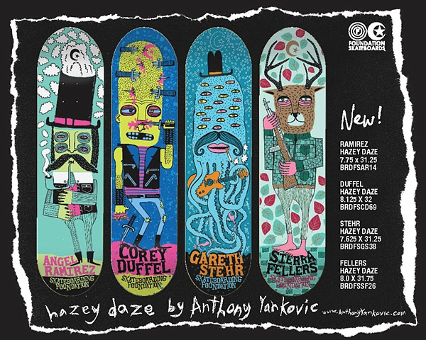 Spring 2010 Foundation Skateboards