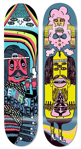 Embassy Skateboards: Blowin' Smoke '09