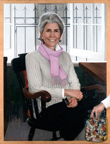 Jane Warwick Oil on canvas Saint David's