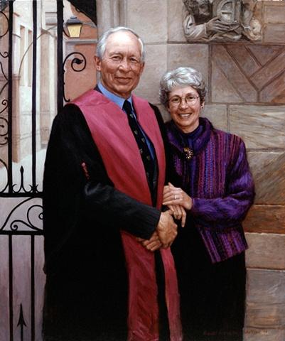 Bernard and Norma Lytton, Jonathan Edwards College, Yale University