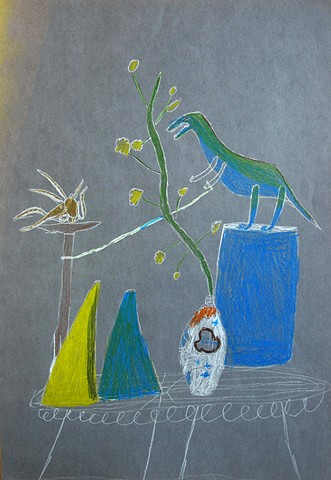 Still Life with Dinosaur #1 by Class Two