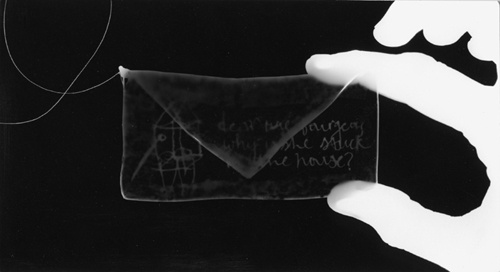 Letter for Louise (Detail photogram)