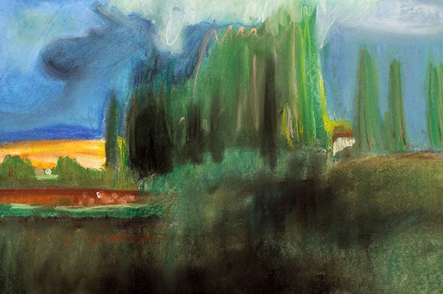 Pastel after George Inness Intro to the Studio Arts | Newman  Upper School