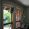 Small hanging retablos - VT Studio Center Summer Residency 2006