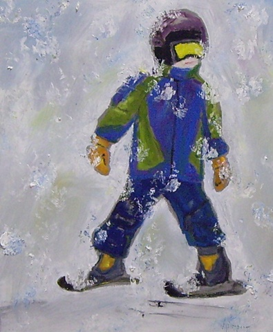 Skier #2
