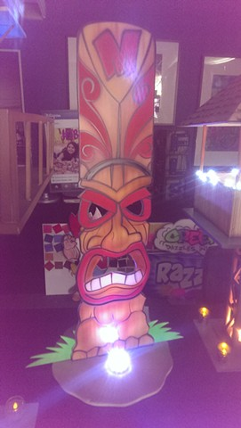 Tiki Guy Centerpiece