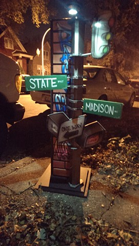 State and Madison Corner Piece