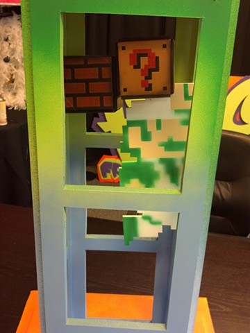 Luigi Centerpiece, Close Up