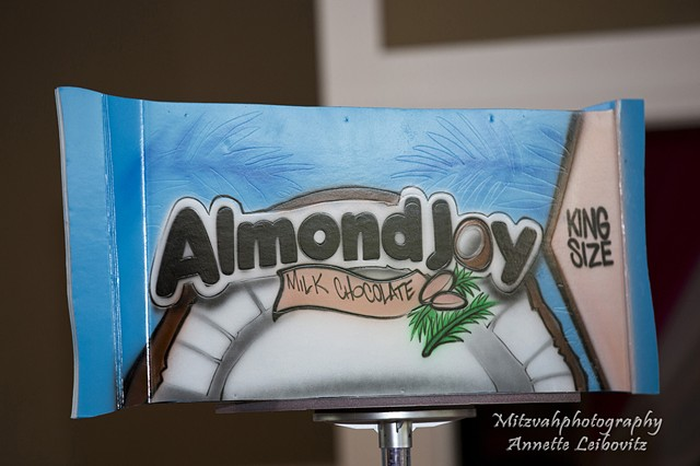 Almond Joy Centerpiece