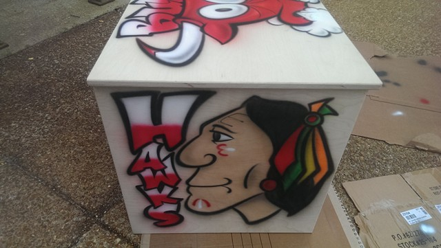 Chicago Sports Cube - Blackhawks