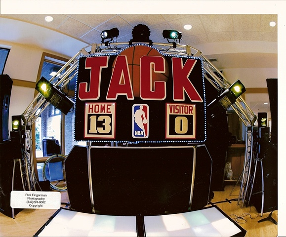 Jack Score Board Stage Sign