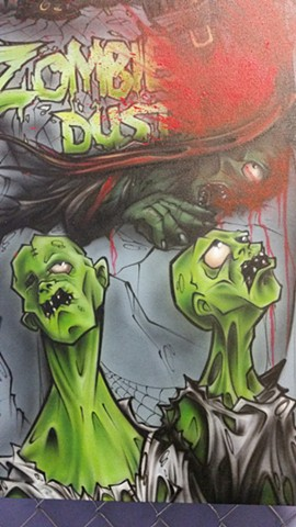 Zombie Dust, Close Up