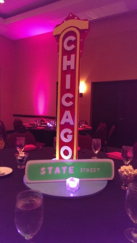 Chicago Theater Centerpiece