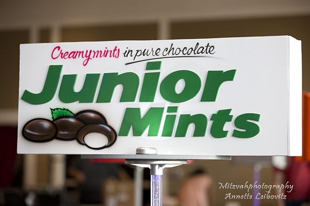 Junior Mints Centerpiece