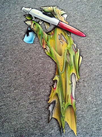 "Zombie Arm for ""Inspire"""