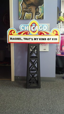 Chicago Theater Marquee Centerpiece