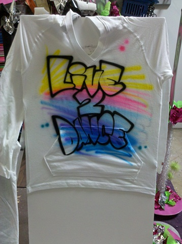 Live 2 Dance Hooded Sweatshirt