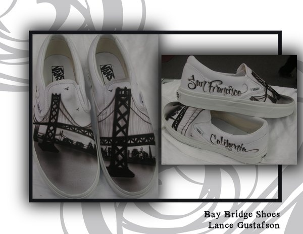 San Francisco Themed Shoes