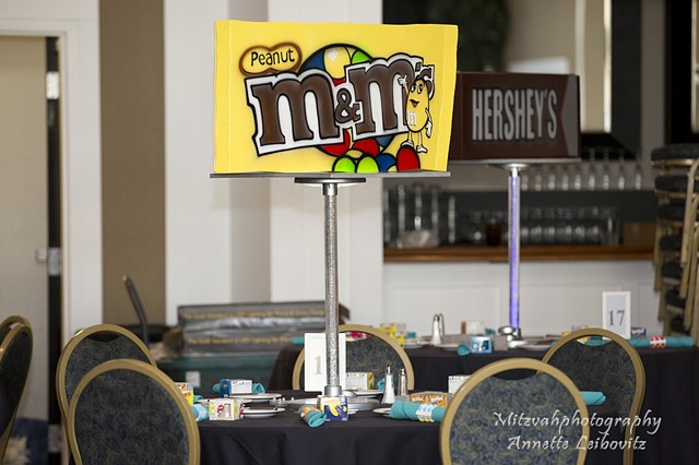 M&Ms Centerpiece