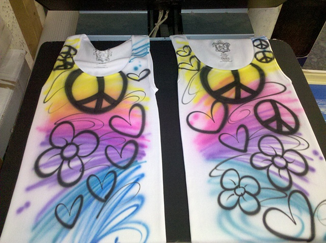 Peace and Love Tanks
