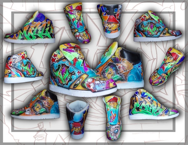 Shoes Graffiti