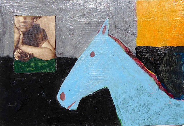 2018 horse/collage