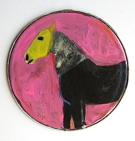 horse-pink