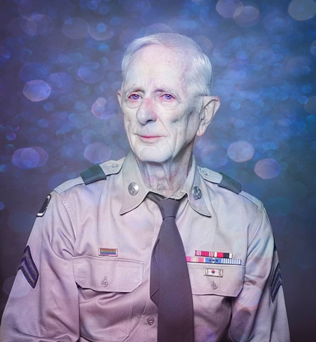 photograph of gay vet by christopher andres