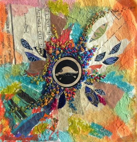 Embroidered Kaleidoscope #2
