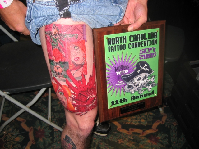 """Tattoo of the day"" Greensboro 1st,on friday"