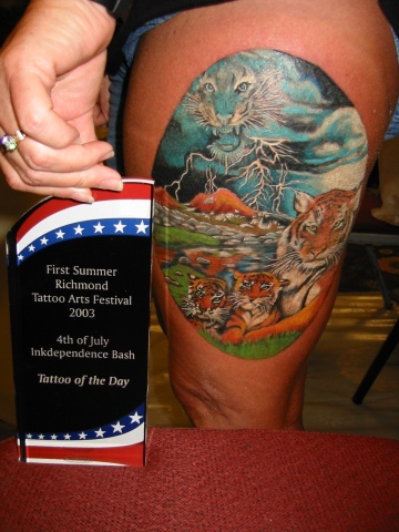 Tattoo of the day Richmond VA summer