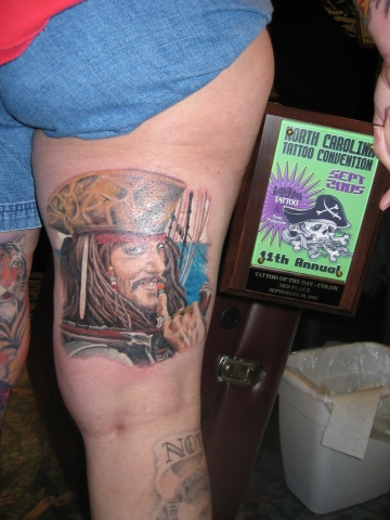 """Tattoo of the day""Greensboro tattoo convention 2nd"