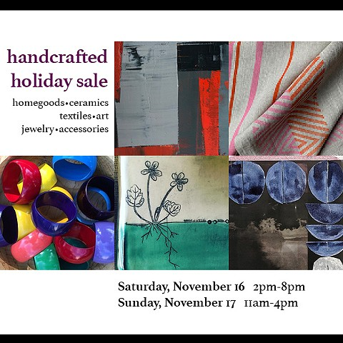 Handcrafted Holiday Art + Craft Sale!