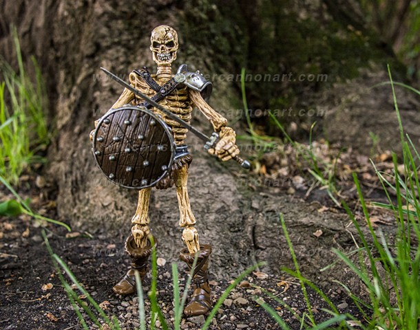 """Skeleton Warrior"" (brown)"