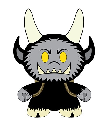 """Krampus"" Dunny Design"