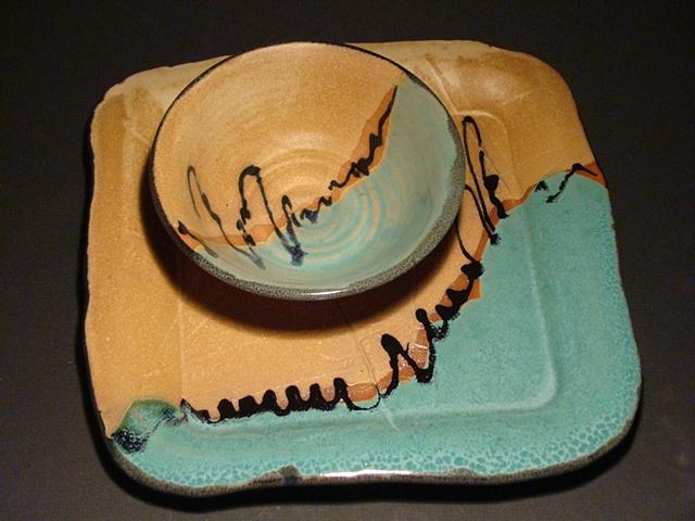 Chip & Dip Square Platter