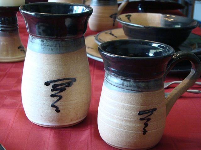 Dinnerware Water Glass & Coffee Mug
