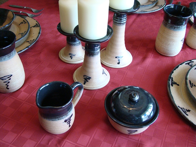 Dinnerware Candle Stands
