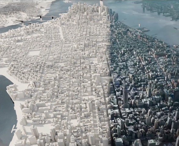 NYC Aerial Breakdown from Teenage Mutant Ninja Turtles: Out of the Shadows