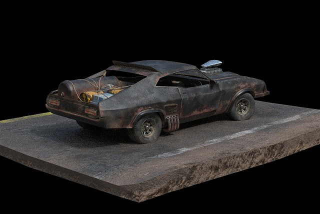 Mad Max FF Interceptor