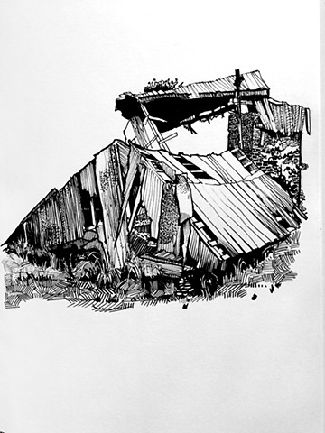Destroyed Shack