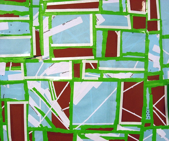 detail: Untitled (drawthing: green)