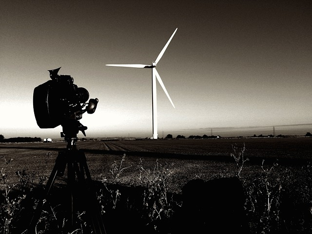 Vientos Fuertes (Strong Winds) - Location Shot, Little Cheyne Wind Farm, 2016