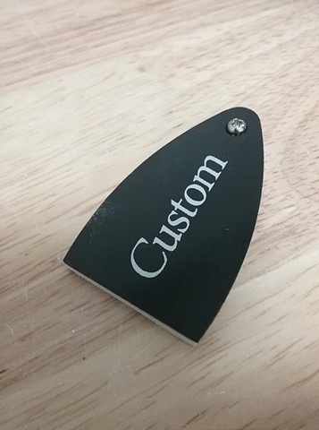 PRS SE Custom 24 truss rod cover