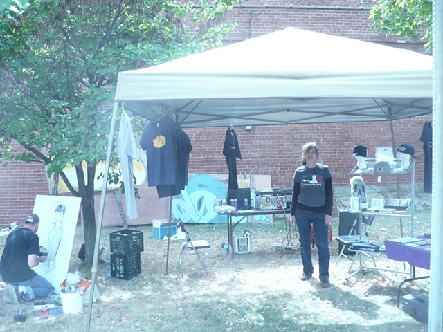 BRIDGE Collective booth at Masterpiece in a Day